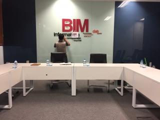 Phòng họp Bim Công ty Sông Đà 5 mẫu FD-PH02