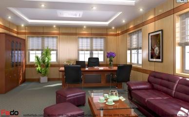 Phòng giám đốc Mẫu FD-PGD02